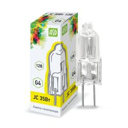 Лампа галогенная JC 35Вт 12V G4 ASD