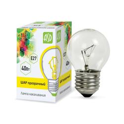 Лампа накал. ШР P45 40Вт 220В Е27 ПР ASD