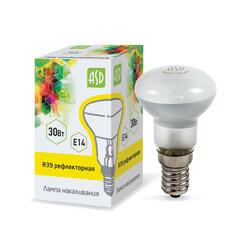 Лампа накал. рефлект.R39 30Вт Е14 МТ ASD
