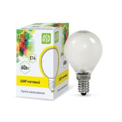Лампа накал. ШР P45 60Вт 220В Е14 МТ ASD