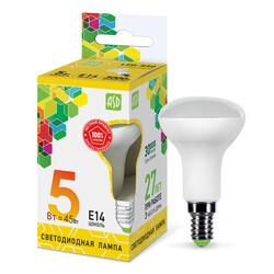 Лампа светодиодная LED-R50-standard 5.0Вт 220В Е14 3000К 400Лм ASD