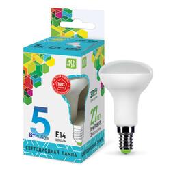 Лампа светодиодная LED-R50-standard 5.0Вт 220В Е14 4000К 400Лм  ASD