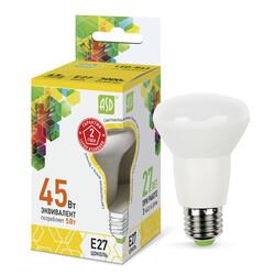 Лампа светодиодная LED-R63-standard 5.0Вт 220В Е27 3000К 400Лм ASD