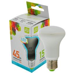 Лампа светодиодная LED-R63-standard 5.0Вт 220В Е27 4000К 400Лм ASD
