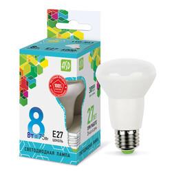 Лампа светодиодная LED-R63-standard 8Вт 220В Е27 4000К 650Лм ASD