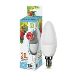 Лампа светодиодная LED-СВЕЧА-standard 3.5Вт 230В Е14 4000К 320Лм ASD