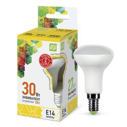 Лампа светодиодная LED-R50-standard 3.0Вт 220В Е14 3000К 250Лм ASD