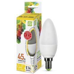 Лампа светодиодная LED-СВЕЧА-standard 5Вт 230В Е14 3000К 450Лм ASD