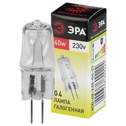 Лампа галогенная G4-JCD-40-230V-Cl ЭРА