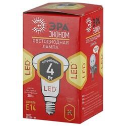 Лампа светодиодная  LED smd R39-4w-827-E14 ЭРА