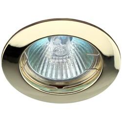 Светильник KL1 GD ЭРА лит простой MR16,12V,50W золото 623824 ЭРА