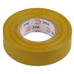 Изолента-ПВХ 19мм*20м желтая 043614 ЭРА