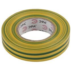 Изолента-ПВХ 15мм*10м желто-зеленая 043935 ЭРА