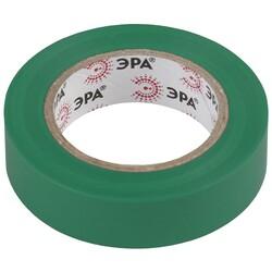 Изолента-ПВХ 15мм*10м зеленая 043911 ЭРА