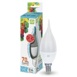 Лампа светодиодная LED-СВЕЧА на ветру-standard 7.5 Вт 160-260В Е14 4000К ASD