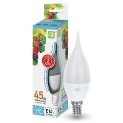 Лампа светодиодная LED-СВЕЧА на ветру-standard 5.0 Вт 160-260В Е14 4000К ASD