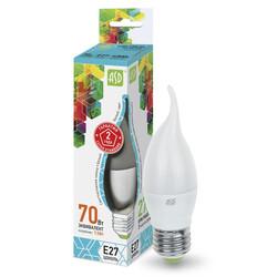 Лампа светодиодная LED-СВЕЧА на ветру-standard 7.5 Вт 160-260В Е27 4000К ASD