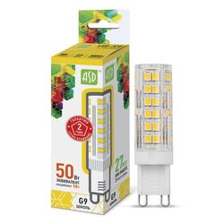 Лампа светодиодная LED-JCD-standard 5Вт 160-260В G9 3000К 450Лм ASD