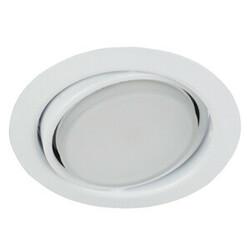 Светильник KL35 А WH под лампу Gx53 поворотный, 220V, 13W, белый 672921 ЭРА