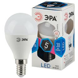 Лампа светодиодная  LED smd P45-5w-840-E14  ЭРА