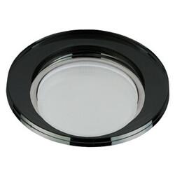 Светильник DK80 BK  Gx53, 220V,13W, черный Б0019577 ЭРА
