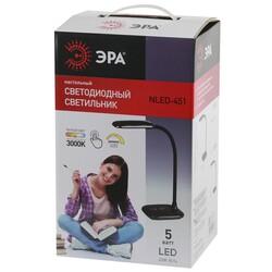 Светильник настольный  NLED-451-5W W  белый  ЭРА