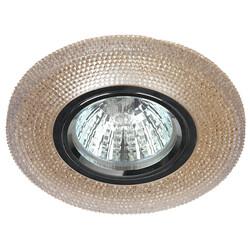 Светильник DK LD1 BR  декор cо светодиодной подсветкой (3W),  коричневый  ЭРА