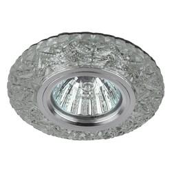 Светильник DK LD4 SL/RGB  декор cо светодиодной подсветкой( мультиколор) (3W), прозрачный ЭРА