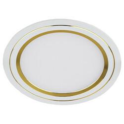 Светильник светодиодный KL LED 11-7 GD  круглый LED белый золото 541625 ЭРА