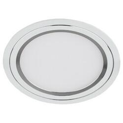 Светильник светодиодный KL LED 11-7 SL  круглый LED белый серебро 541595 ЭРА