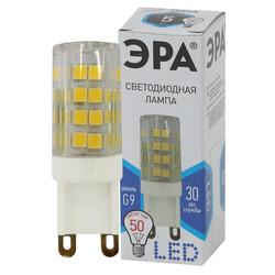 Лампа светодиодная  LED smd JCD-5w-220V-corn, ceramics-840-G9 ЭРА