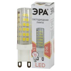 Лампа светодиодная  LED smd JCD-7w-220V-corn, ceramics-827-G9 ЭРА
