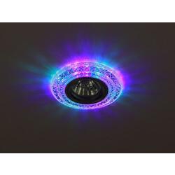Светильник DK LD3 SL/RGB  декор cо светодиодной подсветкой( мультиколор) (3W), прозрач ЭРА