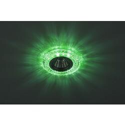 Светильник DK LD3 SL/WH+GR  декор cо светодиодной подсветкой( белый+зеленый) (3W)  ЭРА