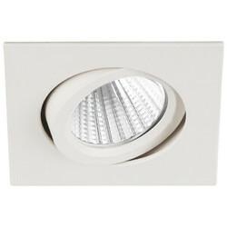 Светильник светодиодный KL LED 10A WH квадратный пов. LED COB 5W 4000K, белый ЭРА