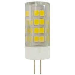 Лампа светодиодная  LED smd JC-5w-220V-corn, ceramics-840-G4 ЭРА