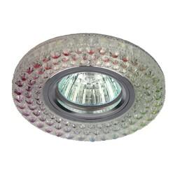 Светильник DK LD15 SL RGB/WH  декор cо светодиодной подсветкой MR16, мультиколор ЭРА