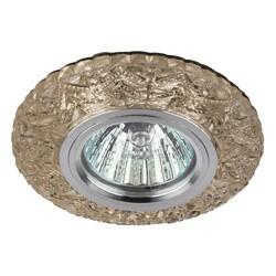 Светильник DK LD4 CHP/WH  декор cо светодиодной подсветкой MR16,шампань  ЭРА
