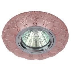 Светильник DK LD5 PK/WH  декор cо светодиодной подсветкой розовый ЭРА