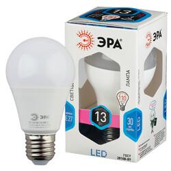 Лампа светодиодная  LED smd A60-13w-840-E27 ЭРА