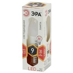 Лампа светодиодная  LED smd B35-9w-827-E27 ЭРА
