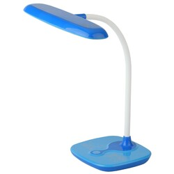 Светильник настольный  NLED-432-6W-BU синий ЭРА