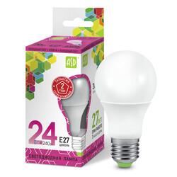 Лампа светодиодная LED-A65-standard 24Вт 160-230В  Е27 6500К 2160Лм ASD