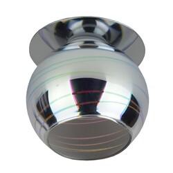 """Светильник DK88-1  """"3D горизонт"""" G9,220V, 35W, серебро/мультиколор ЭРА"""