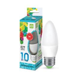 Лампа светодиодная LED-СВЕЧА-standard 10Вт 230В Е27 4000К 900Лм ASD