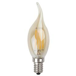 Лампа светодиодная  F-LED BXS-7w-827-E14 gold  ЭРА
