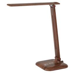 Светильник настольный  NLED-463-10W-WOOD дерево ЭРА