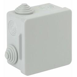 Коробка распаячн. открытой установки КОР 80х80х50мм с гермовводами 7 вх. IP54 (60) ЭРА