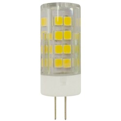 Лампа светодиодная  LED smd JC-3,5w-220V-corn, ceramics-827-G4 ЭРА