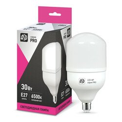 Лампа светодиодная LED-HP-PRO 30Вт 230В Е27 6500К 2700Лм ASD